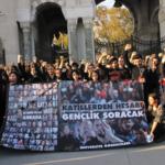 Gençliğin 10 Ekim Katliamı anması