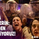 Soylu'ya Haber Verin: Taksim'den Vazgeçmiyoruz!