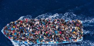 salgında göçmenler